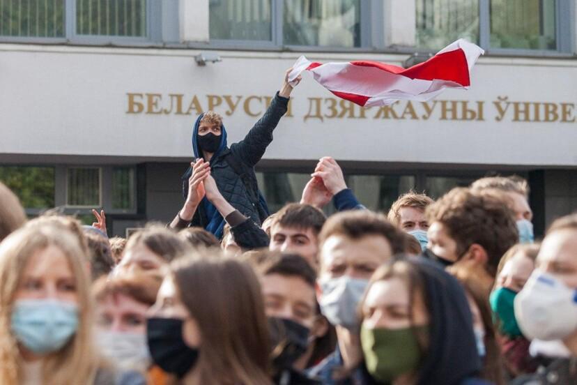 С глаз долой Начало белорусской забастовки
