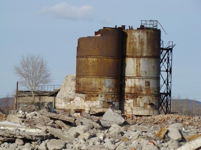 сернокислотный завод в Комсомольске на Амуре