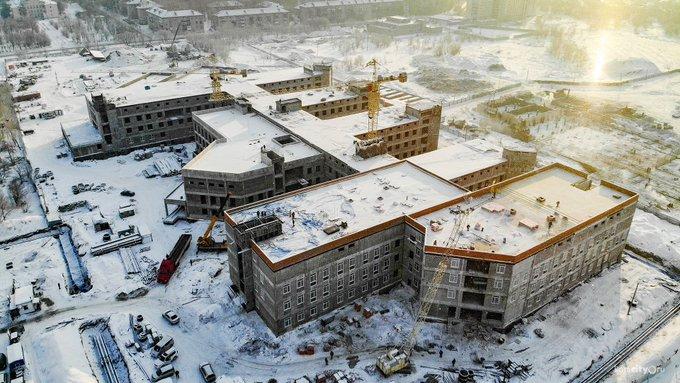 строительство детской больницы Комсомольск