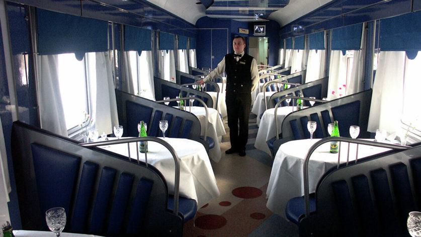 РЖД намерена отказаться от вагонов-ресторанов