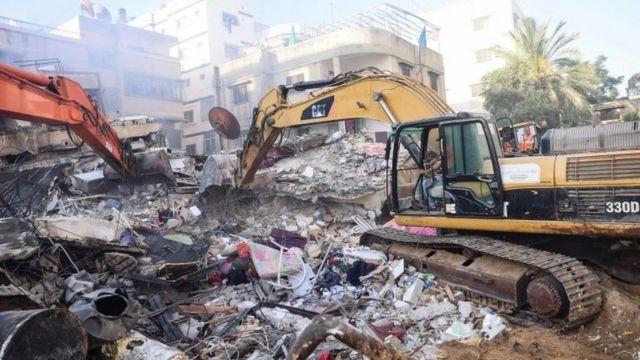 В результате авиаударов разрушен дом лидера ХАМАС в Газе