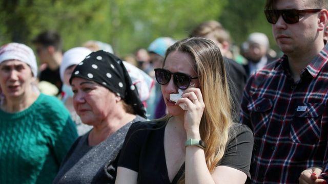 Похороны погибших в казанской школе и суд над стрелком