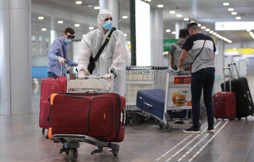 Англия добавила Россию в «желтый список» по заболеваемости коронавирусом