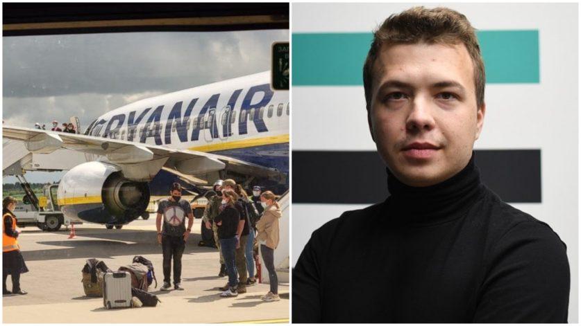 Белорусский оппозиционер Протасевич был арестован во время полета