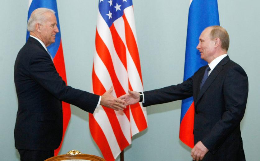 Определена дата и место встречи Владимира Путина и Джо Байдена