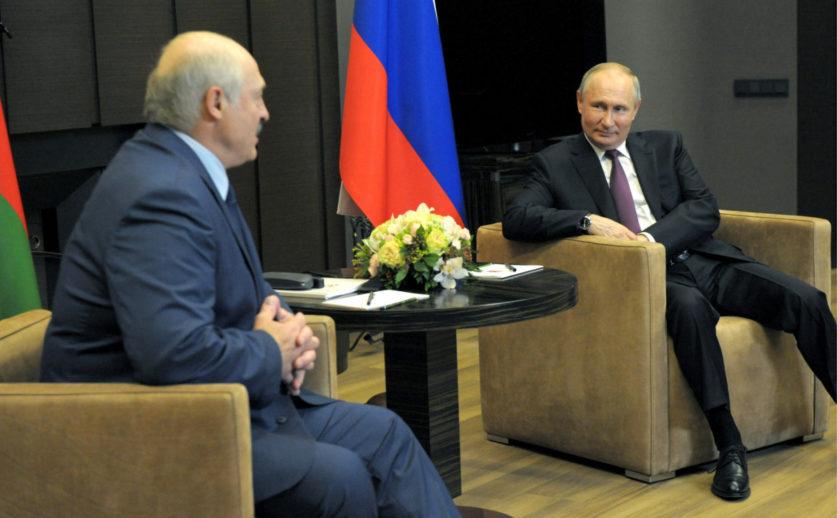 Переговоры Путина и Лукашенко продлились больше пяти часов