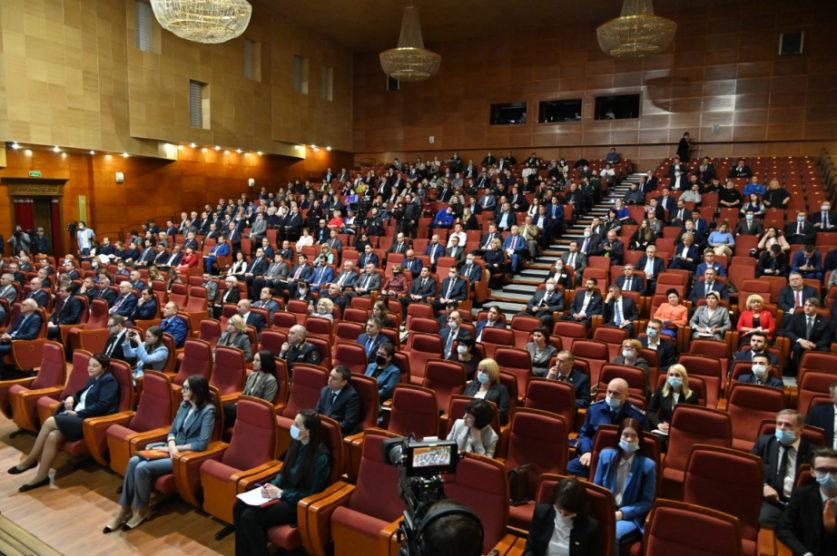 Отчёт Михаила Дегтярёва перед Законодательной думой