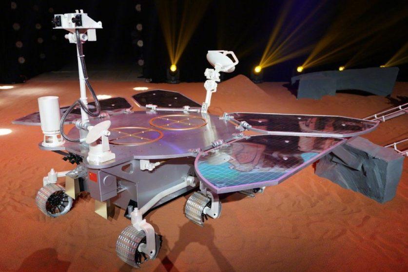 Made in China первая высадка аппаратов КНР на Марсе