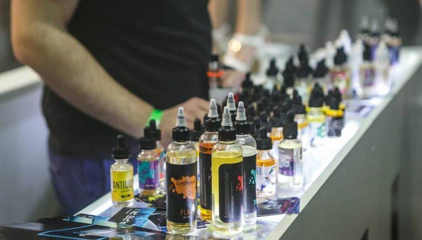 Запрет на использование жидкостей для электронных сигарет