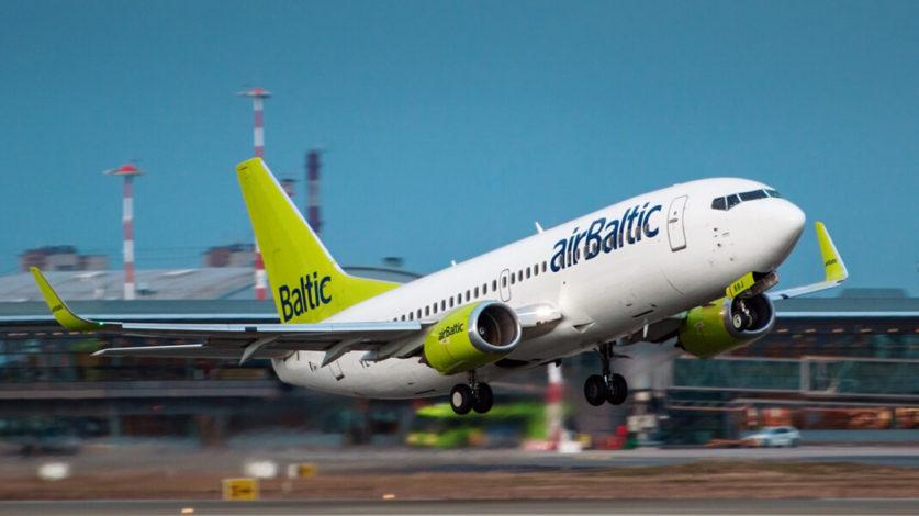 Латвийская авиакомпания airBaltic отказалась от полетов над Белоруссией