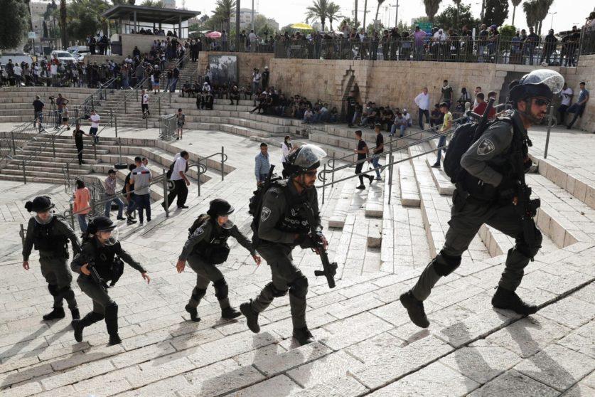 Ракетные удары в Палестине и Израиле