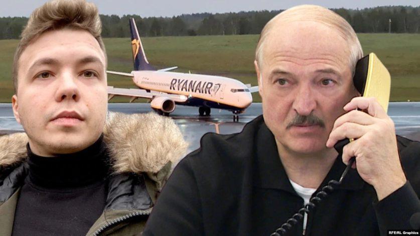 Роман Протасевич записал первое видео после ареста