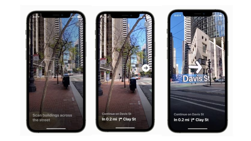 Apple развивает технологии дополненной реальности