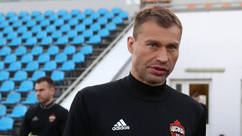 Березуцкий стал главным тренером футбольного клуба ЦСКА
