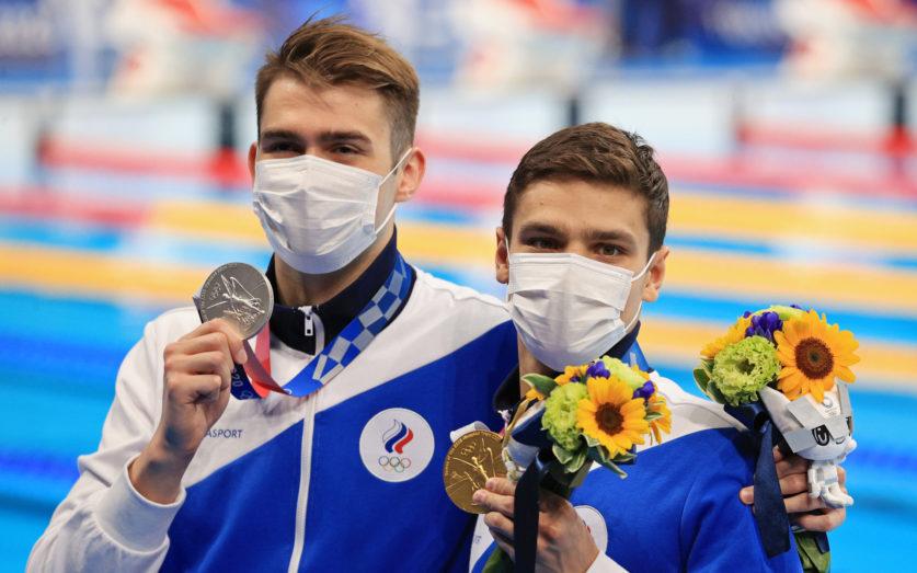 Российские пловцы завоевали второе место на Олимпиаде в Токио