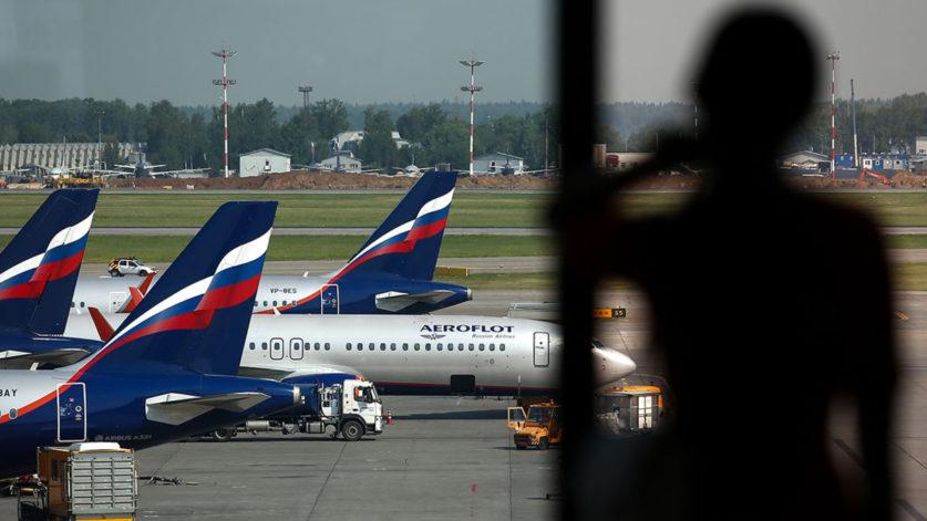 В «Аэрофлоте» начали отстранять от работы непривитых сотрудников