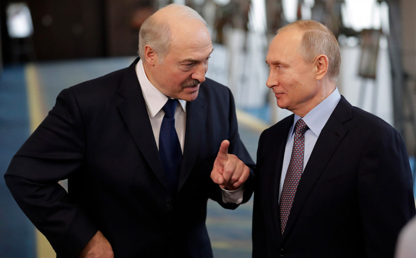 Лидеры России и Белоруссии договорились об интеграции двух стран