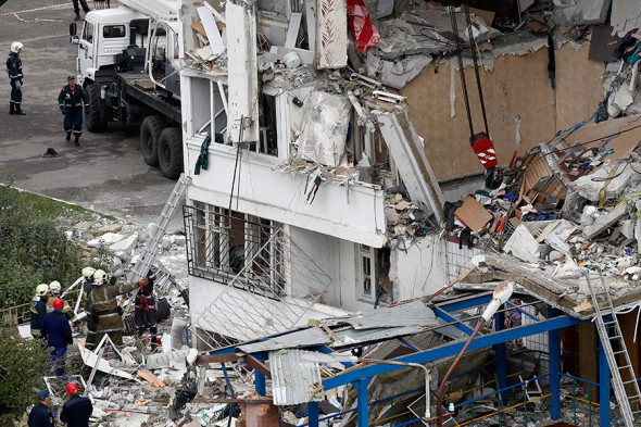 В Ногинске произошел взрыв газа в жилом доме