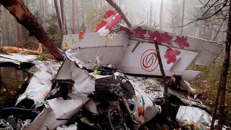 Крушение самолета в Иркутской области