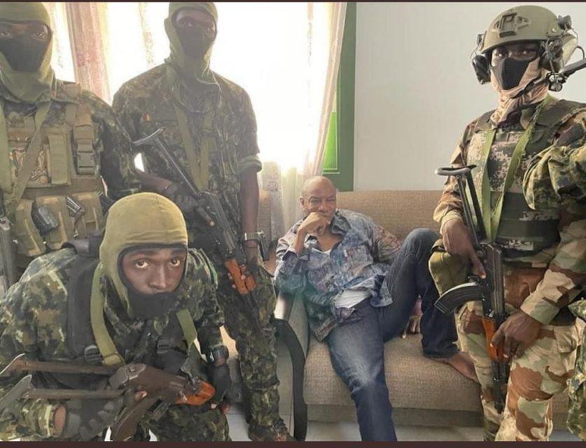 Военный переворот в Гвинее