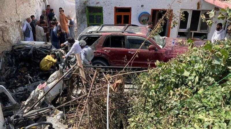 США признали атаку беспилотника по Кабулу ошибкой