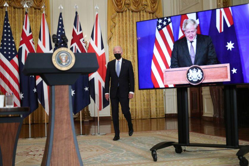 США, Великобритания и Австралия создали оборонный альянс AUKUS