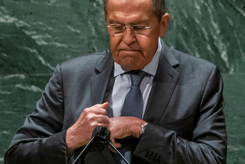 Глава МИД РФ выступил на Генассамблее ООН в Нью-Йорке