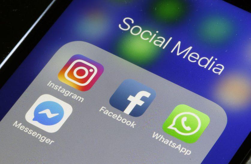 В работе сервисов Facebook, Instagram и WhatsApp произошел огромный сбой