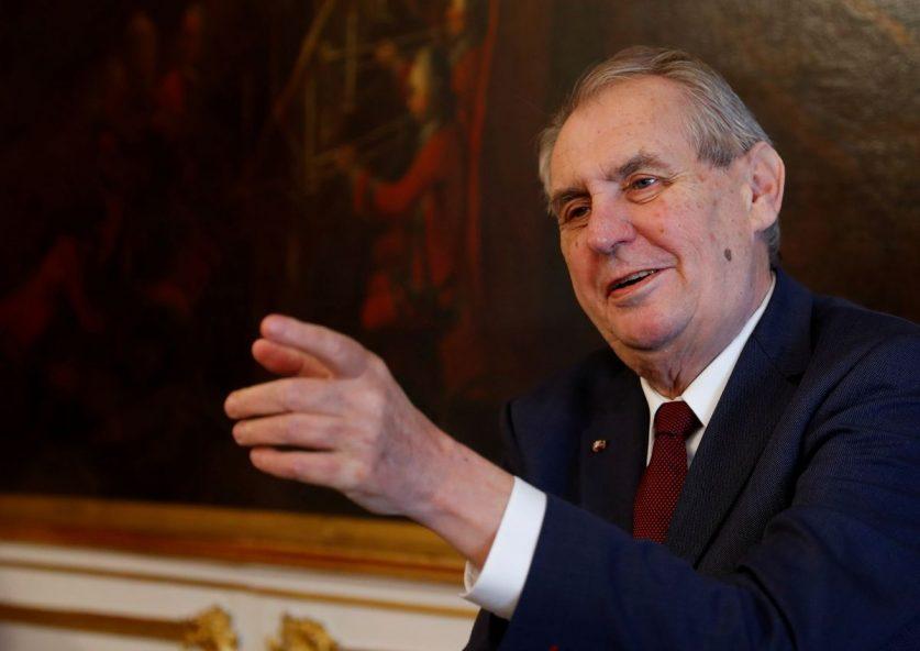 Президент Чехии Милош Земан попал в реанимацию