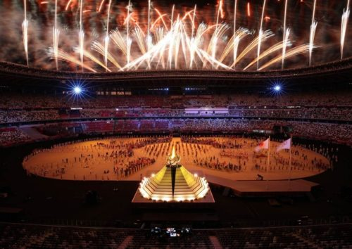 Открытие XXXII летних Олимпийских Игр в Токио