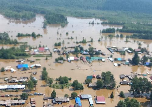 Новую волну паводков ожидают власти и спасатели в Хабаровском крае