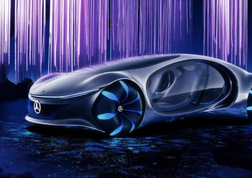 Новая технология Mercedes позволит управлять автомобилем силой мысли