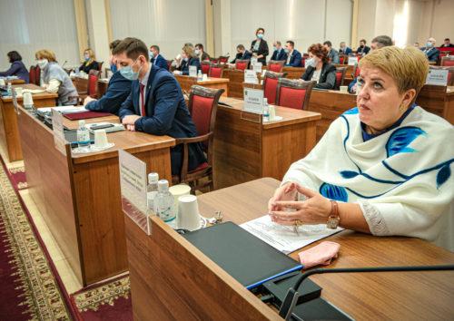 Правительственный час в Законодательной Думе
